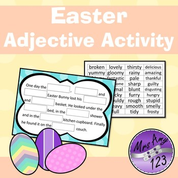Easter Adjectives Activity