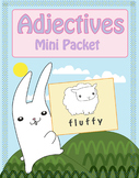 Easter Adjectives Mini Packet