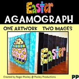 Easter Agamograph Art Activity