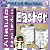 Easter Sunday ~ Alleluia, Jesus Has Risen Banner Templates ~ Bible Theme