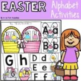 Easter Alphabet Activities