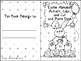 Easter Alphabet Activity Color Cut and Paste Book Tt