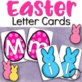 Easter Alphabet Cards for (Montessori) Salt Trays or Language Centers