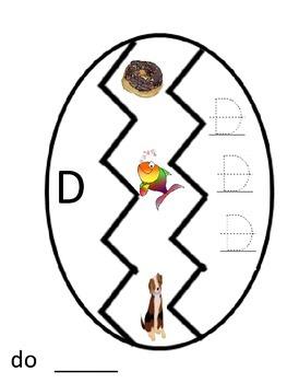 Easter Alphabet Eggs