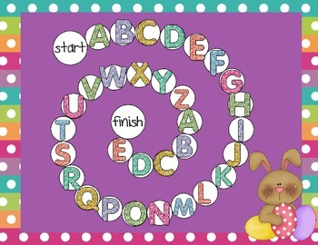 Easter Alphabet Games