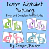 Easter Alphabet Matching Language Arts Center