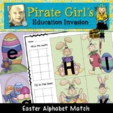 Easter Alphabet Matching Game
