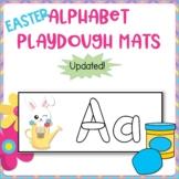 Kindergarten Center - Easter Alphabet Playdough Mats