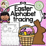 Easter Alphabet Tracing pages