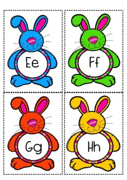 Easter Alphabet and Picture Match !