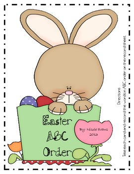 Easter Alphabetical Order