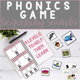 Easter April Phonics Beginning Sounds Game