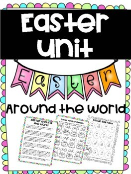 Easter Around the World - Article and activities (ELA & Math)