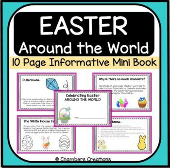 Easter Around the World Mini Book-Holiday Flip Book!