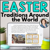 Easter Around the World Reading Comprehension |  BOOM CARDS™