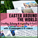 DISTANCE LEARNING Easter Around the World Reading Comprehension