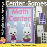 Easter Multiplication Arrays Math Center Games