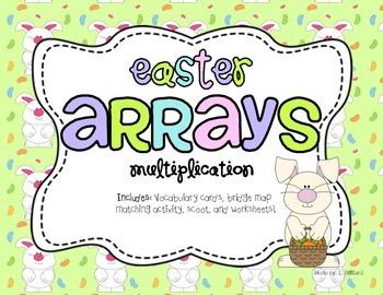 Easter Arrays - Multiplication