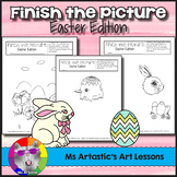 Easter Art Activity: Finish the Picture!