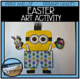 Easter Craftivity : Print and Make for A Great Bulletin Board