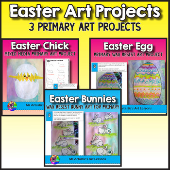 Easter Art Projects, Coloring Pages, and Bookmarks