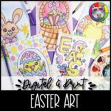 Easter Art Lessons Booklet, Distance Learning {DIGITAL & PRINT!}