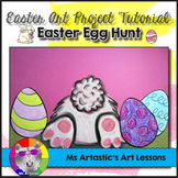 Easter Art Project, Easter Bunny Egg Hunt
