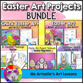 Easter Art Projects, Growing Bundle