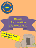 Easter Artic /R/ words all positions * No Prep * Word Find
