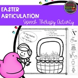 Easter Articulation Activity