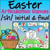 Easter Articulation Activities for sh Words