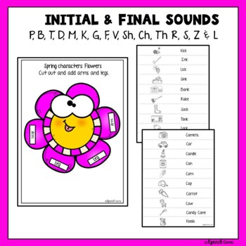 Easter Articulation & Language Bunny Craft