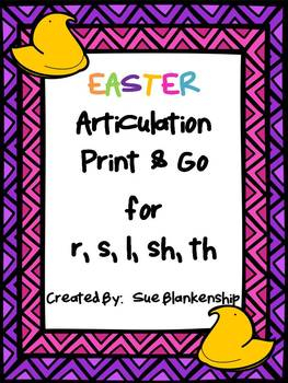 Easter Articulation Print & Go