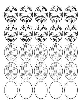 Easter Articulation Speech Sounds Homework
