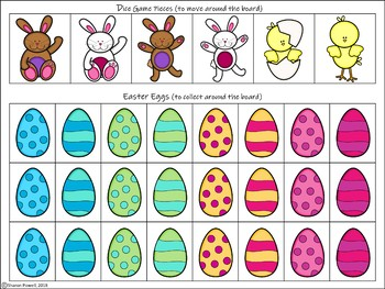 Easter Articulation Activities for f words