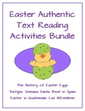 Easter Authentic Text Reading Activities Bundle