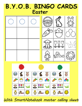 Easter Build-Your-Own Bingo Cards