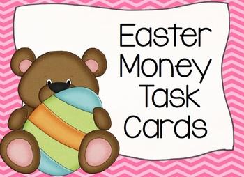 Easter BEARS Money Task Cards