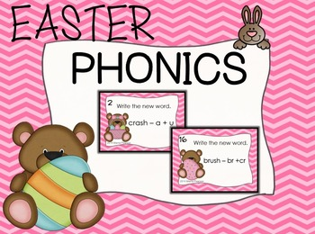 Easter BEARS Phonics Task Cards
