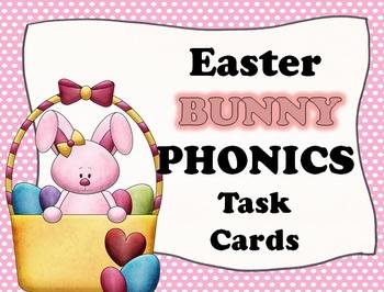 Easter BUNNY Phonics Task Cards