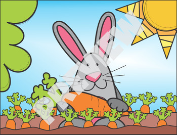 #springintosavings Easter Background Scenes ClipArt