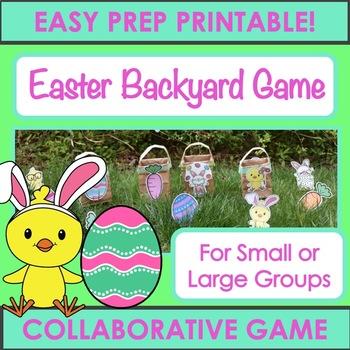 Easter Backyard Activity - Collaborative Game!