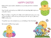 Easter Bag Toppers