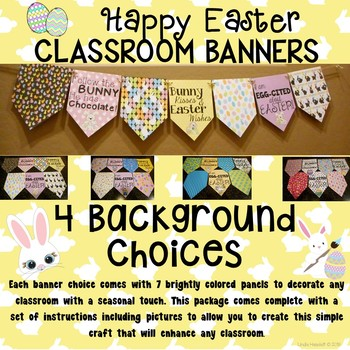 Easter Banner Set for the Classroom