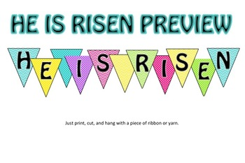 Easter Banners and Decor