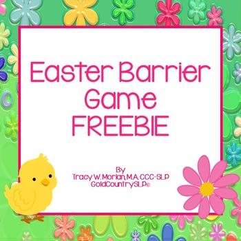 Easter Barrier Game