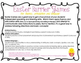 Barrier Games for Easter Speech and Language Therapy