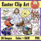 Easter Basic Clip Art