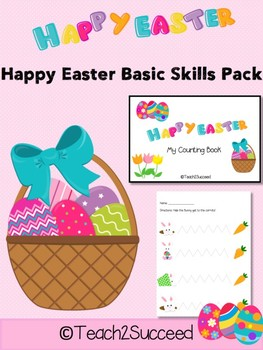 Easter Basic Skills Pack for Early Ed and Special Education