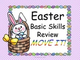Easter Basic Skills Review MOVE IT!
